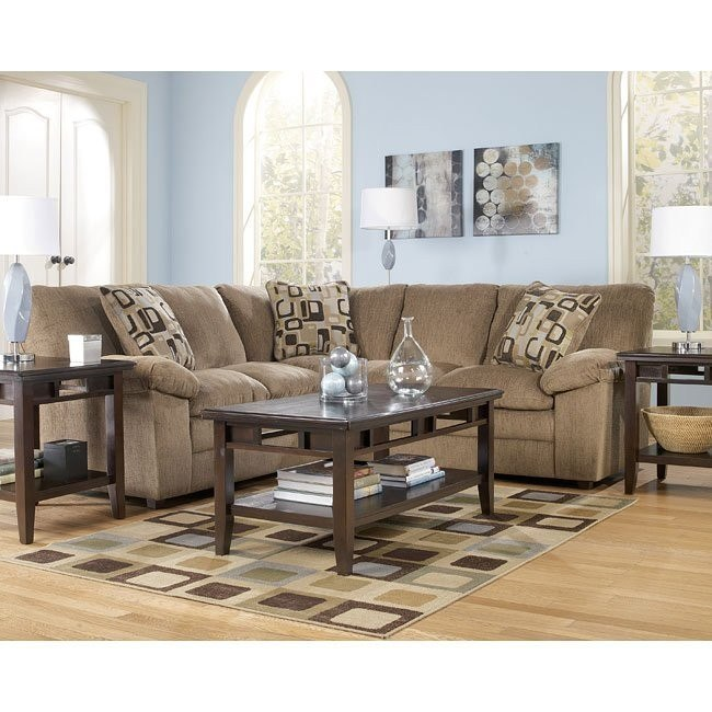 Renick - Brown Sectional Living Room Set