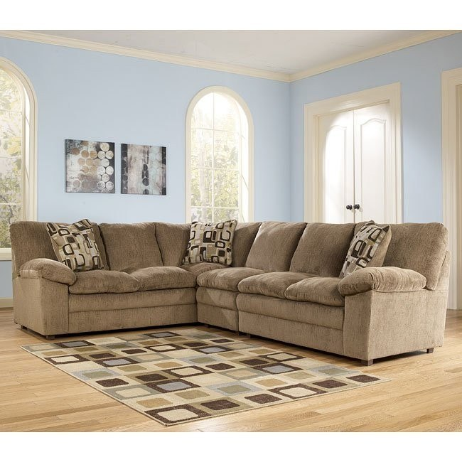 Renick - Brown Large Right Loveseat Sectional