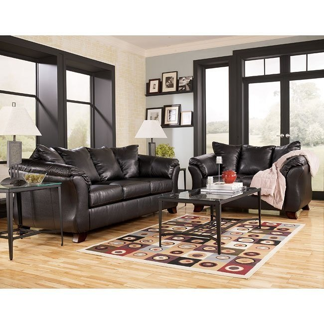 San Marco DuraBlend - Chocolate Living Room Set