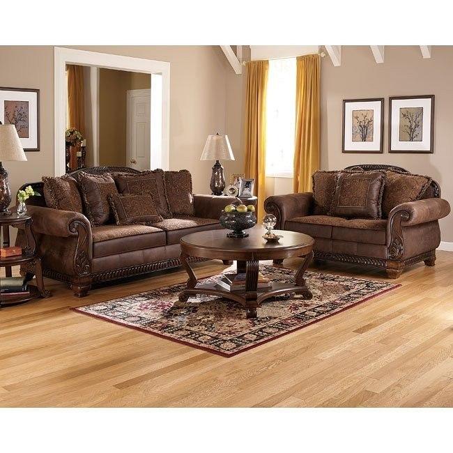 Bradington - Truffle Living Room Set