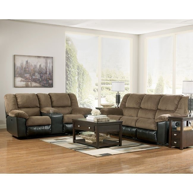 Jareth Cafe Reclining Living Room Set