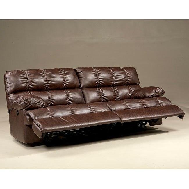 Rashane DuraBlend - Saddle Reclining Sofa w/ Power