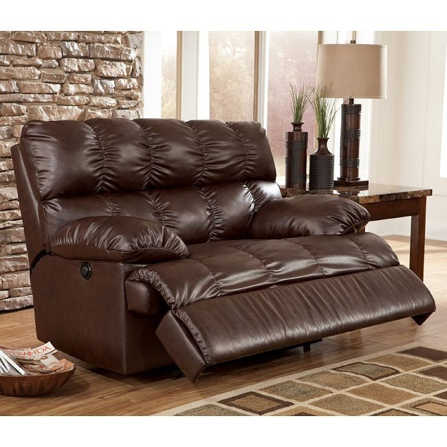 Rashane DuraBlend - Saddle Zero Wall Recliner w/ Power