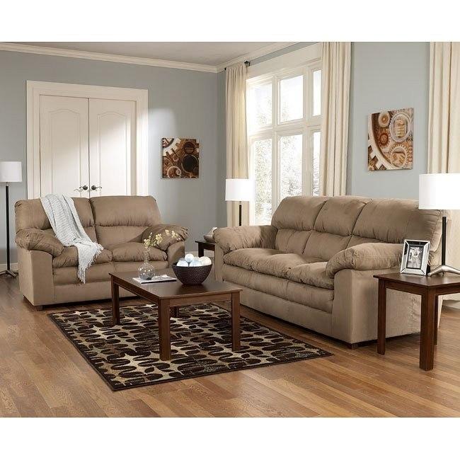 Gambi - Mocha Living Room Set