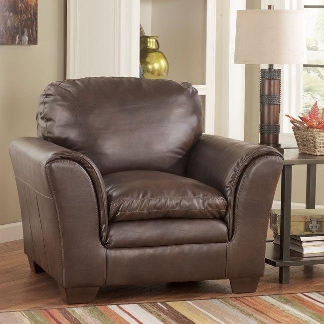 Murielle DuraBlend Espresso Chair