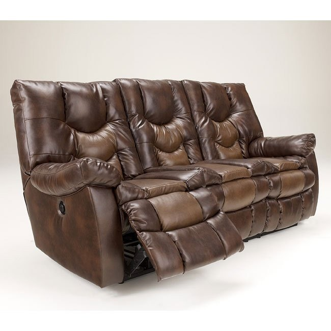 Gyro DuraBlend Sedona Reclining Power Sofa