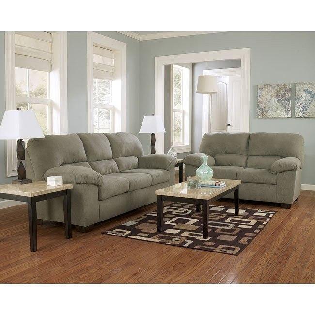 Zadee Sage Living Room Set