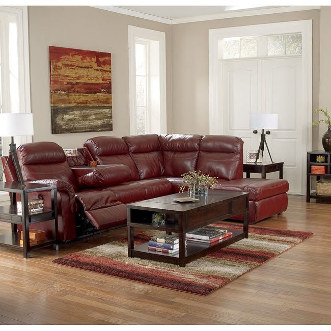 Primematic DuraBlend Crimson Power Sectional Set
