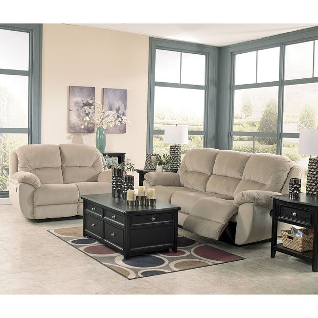 Maytime Putty Reclining Living Room Set w/ Power