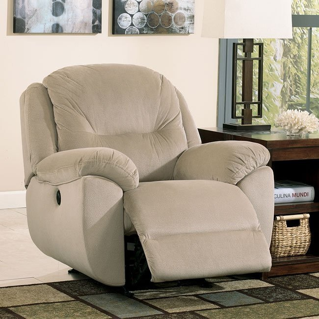 Maytime Putty Power Rocker Recliner