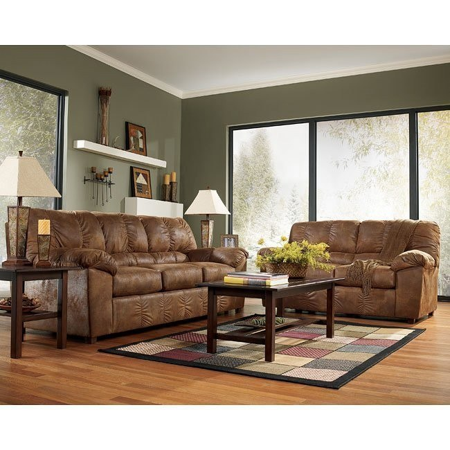 Navigator - Saddle Living Room Set