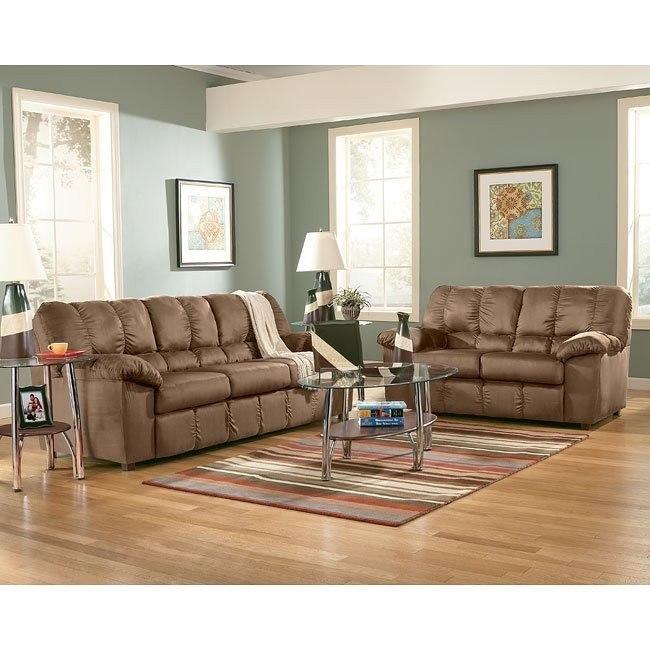 Sha-Shou - Cocoa Living Room Set