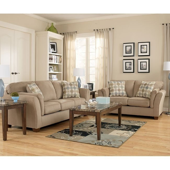 Sloan - Latte Living Room Set