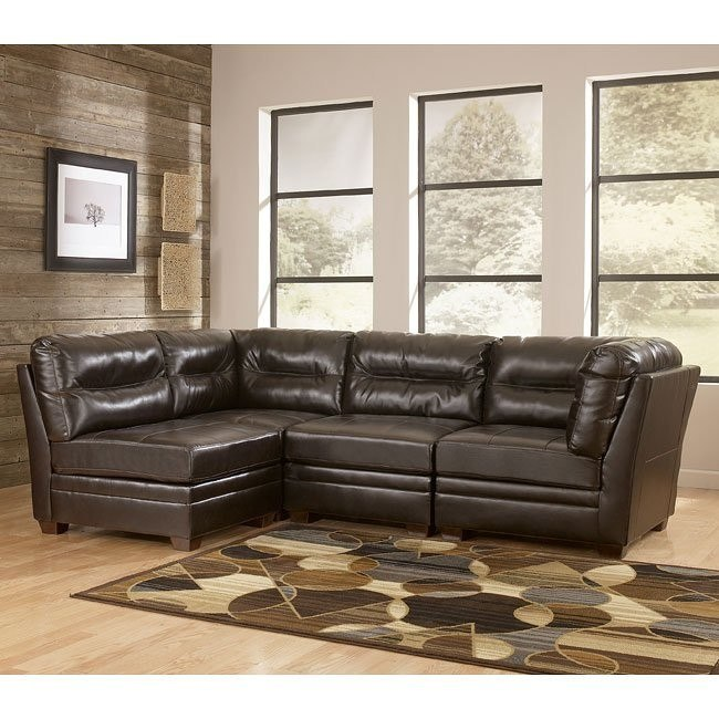 DuraBlend - Chocolate Modular Sectional