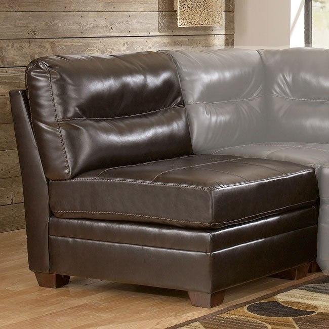 DuraBlend - Chocolate Armless Chair