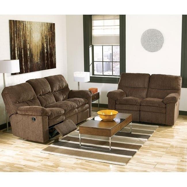 Laila - Espresso Reclining Living Room Set