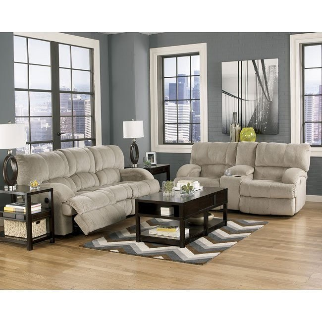Kiska Pebble Reclining Living Room Set