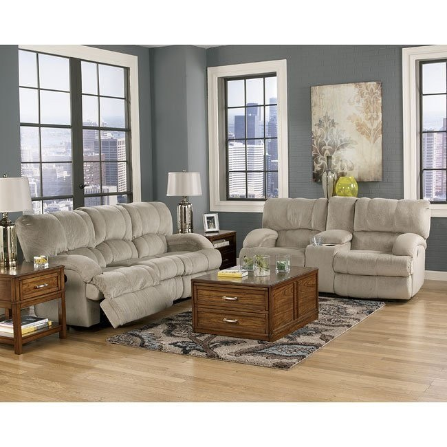 Kiska Pebble Power Reclining Living Room Set