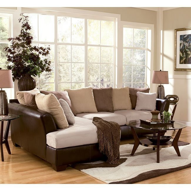 Logan - Stone Sectional Living Room Set
