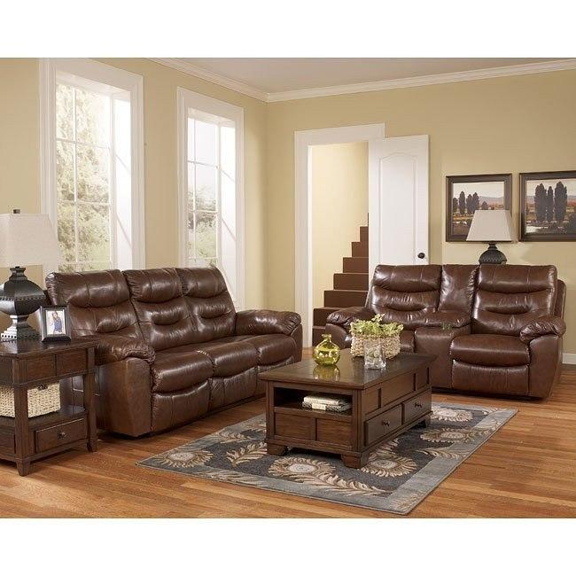 Arjen Copper Power Reclining Living Room Set