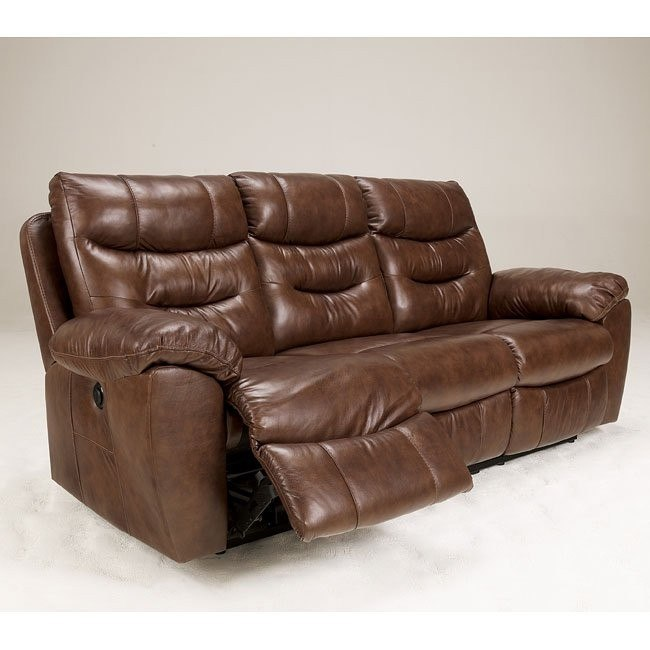 Arjen Copper Reclining Sofa w/ Power