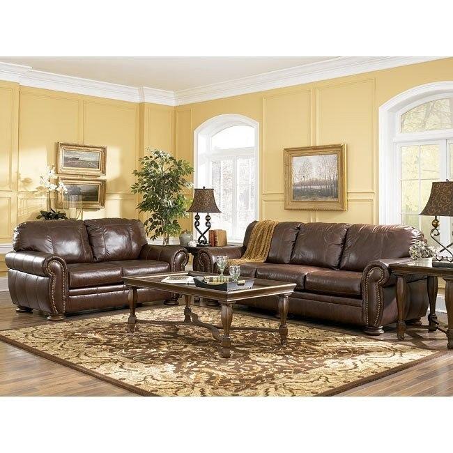 Palmer - Walnut Living Room Set