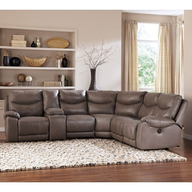 Pegram Pebble Modular Sectional w/ Console