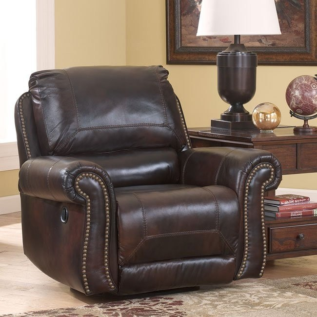 Dexpen Saddle Swivel Glider Recliner