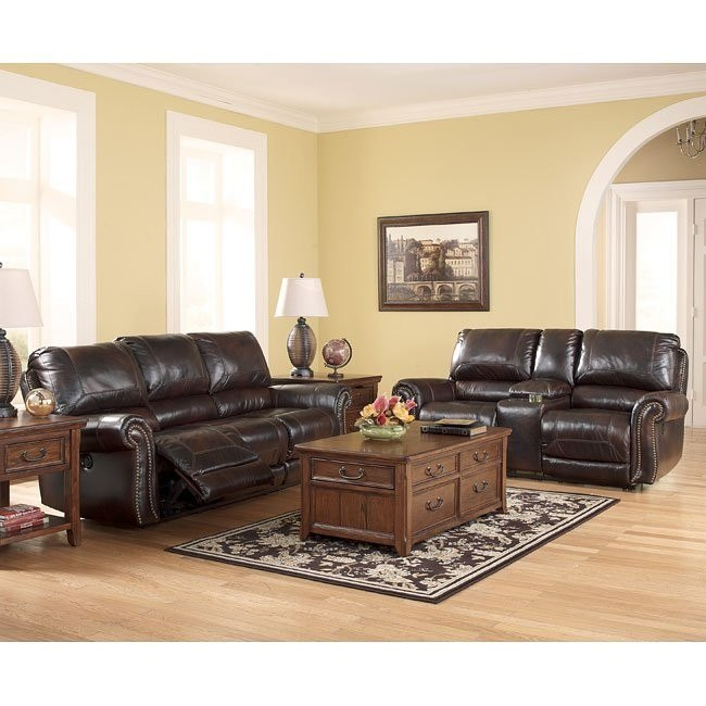 Dexpen Saddle Reclining Living Room Set w/ Power