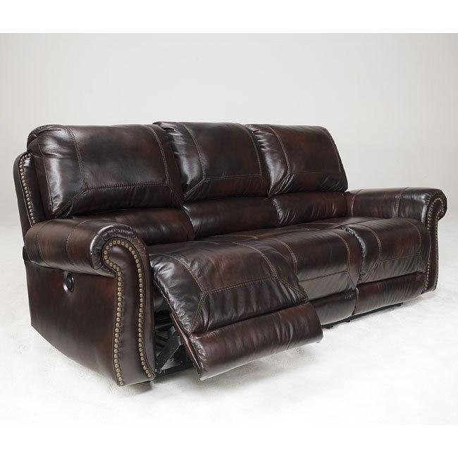 Dexpen Saddle Reclining Power Sofa