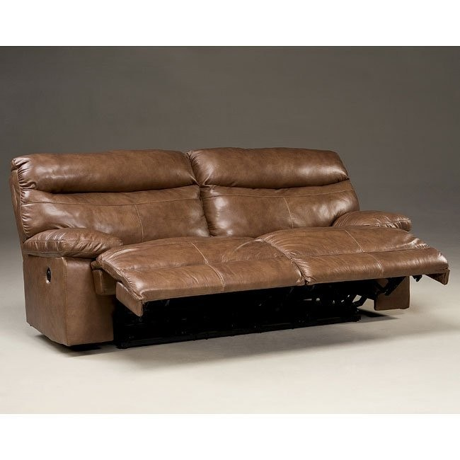 Beamard Toffee Power Reclining Sofa