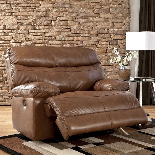 Beamard Toffee Zero Wall Recliner w/ Power