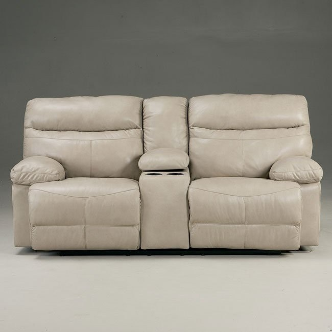 Beamard Galaxy Reclining Loveseat w/ Console