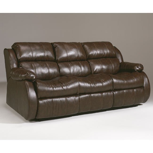 DuraBlend - Cafe Reclining Sofa w/ Dual Massage