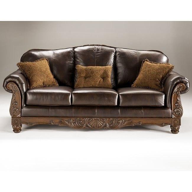 North Shore - Dark Brown Sofa