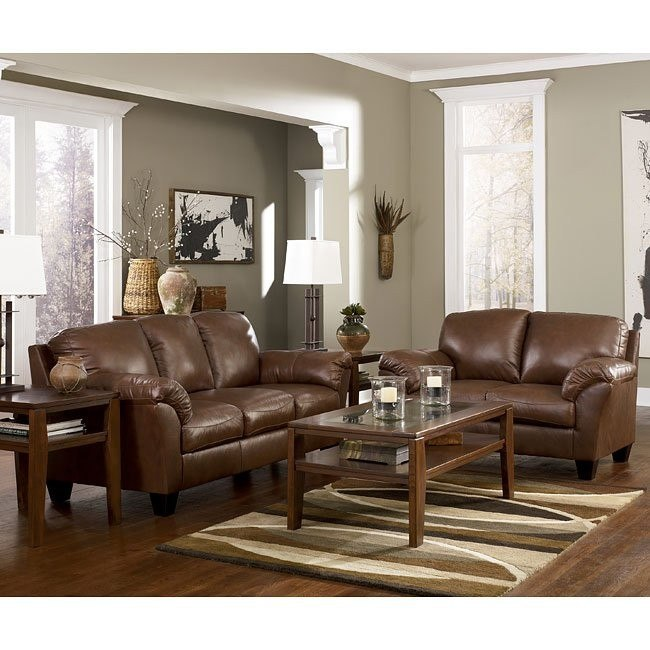 Rivergate - Brown Living Room Set