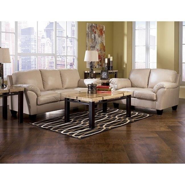 Rivergate - Stone Living Room Set