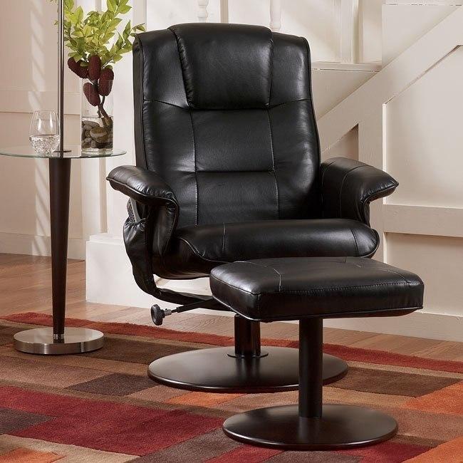 Margo - Black Comfort Loungers