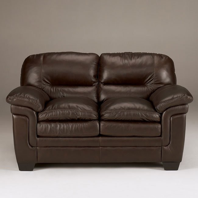 Maguire - Brown Loveseat