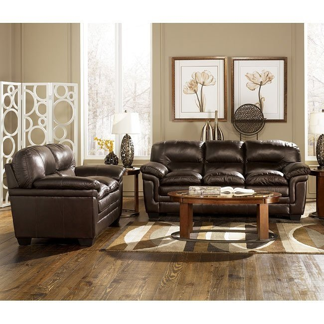 Maguire - Brown Living Room Set