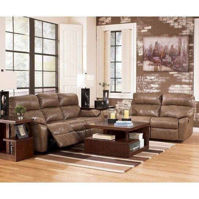 Windmaster DuraBlend Taupe Living Room Set w/ Power