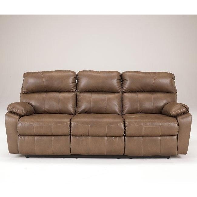 Windmaster DuraBlend Taupe Reclining Sofa