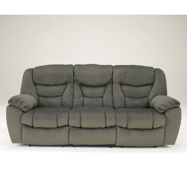 Biwabik Pewter Reclining Sofa