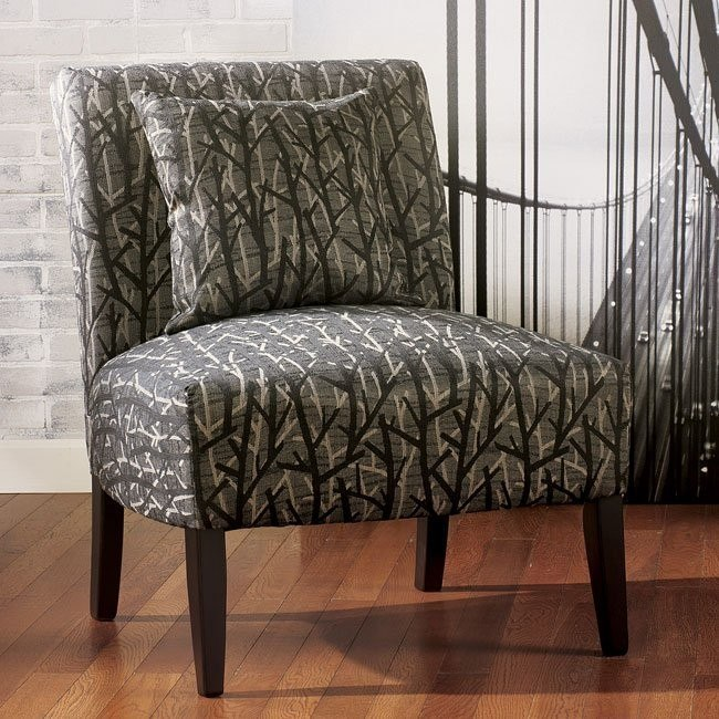Siroun - Steel Showood Accent Chair