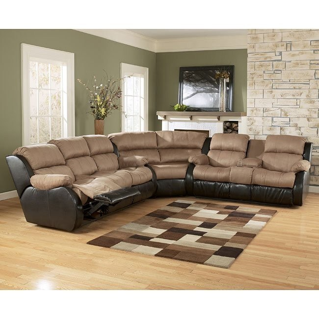 Presley - Cocoa Reclining Sectional