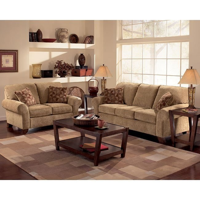 Townhouse - Tawny Living Room Set
