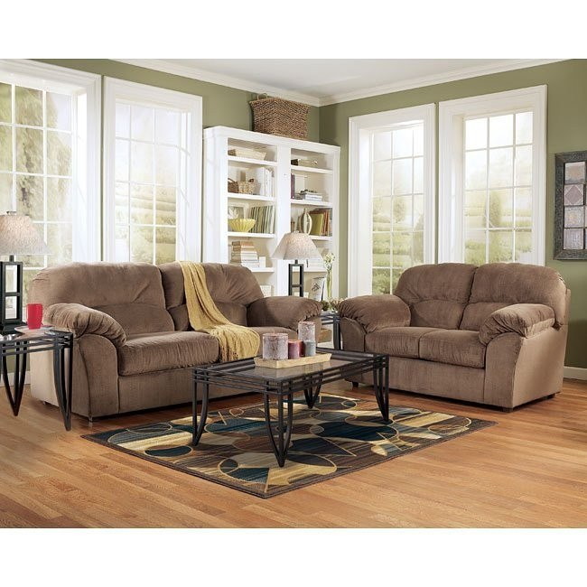 Macie - Brown Living Room Set
