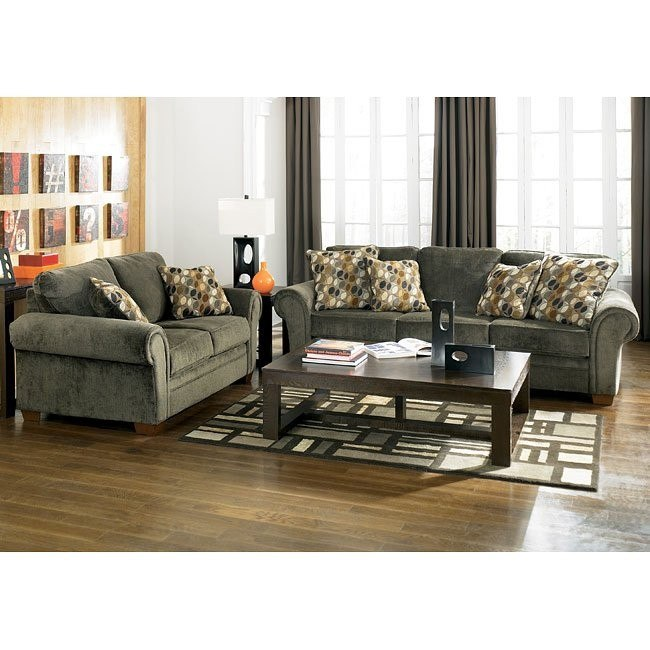 Kirkwood - Charcoal Living Room Set