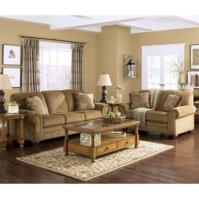 Lowery - Nutmeg Living Room Set
