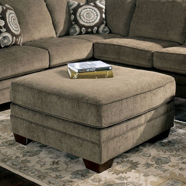 Cosmo - Marble Oversized Accent Ottoman